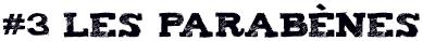 3. Les parabenes